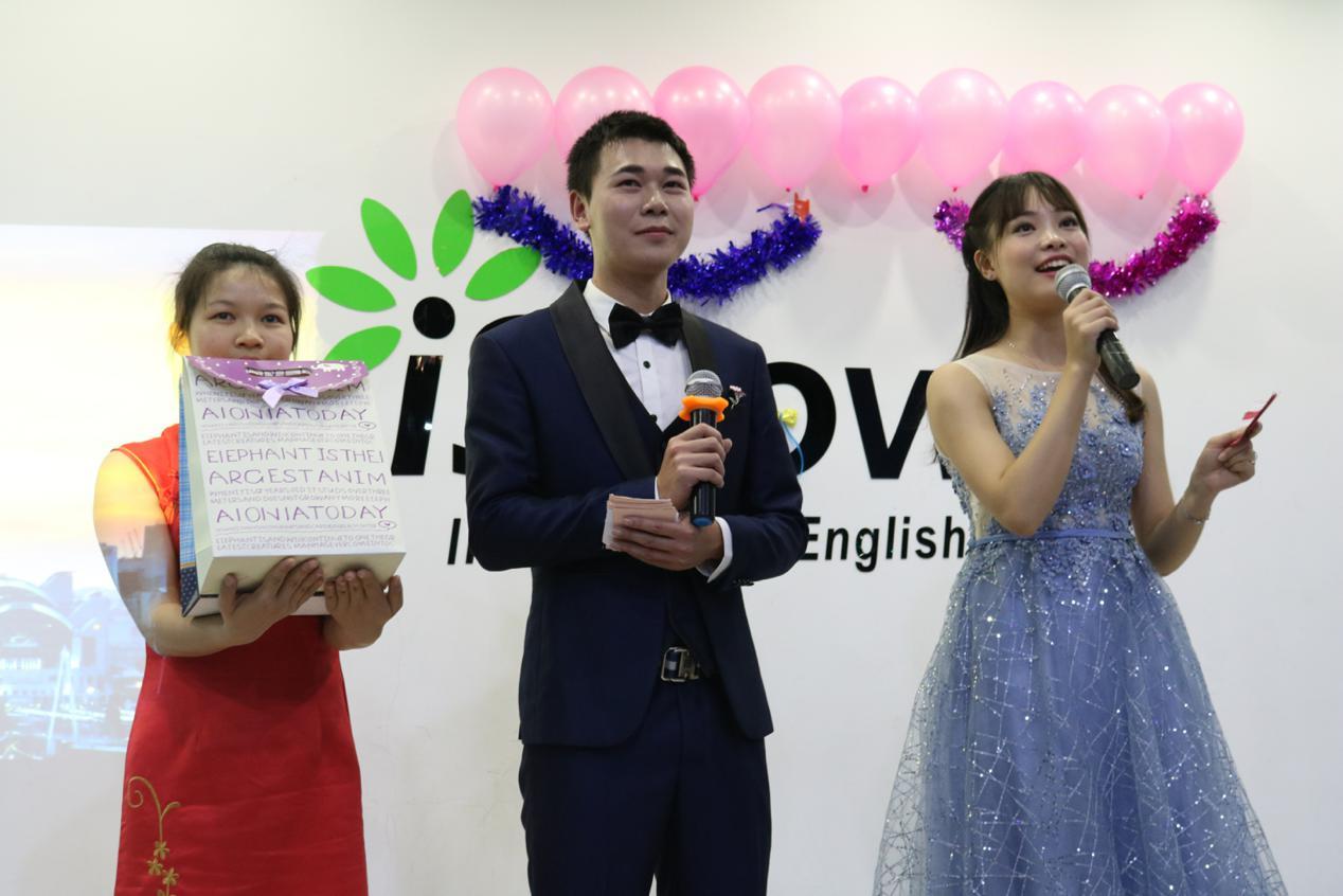南宁iShow国际英语第三届Presentation大赛震撼开场